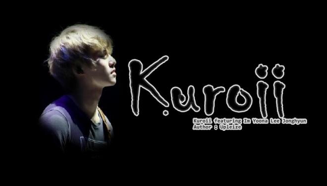 kuroii poster