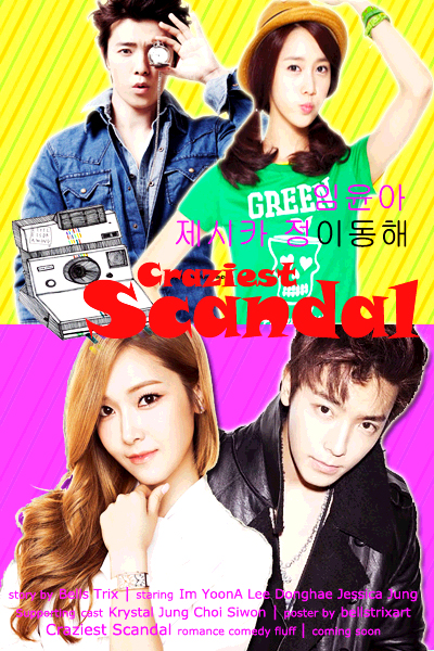 CRAZIEST SCANDAL POSTER