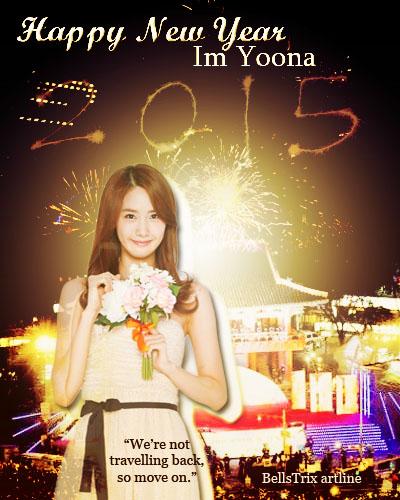 HAPPY NEW YEAR, IM YOONA POSTER