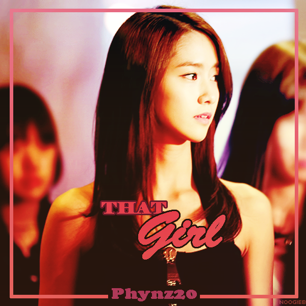 Poster Phynz20 That Girl by Phynz20